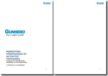 Analyse de l'entreprise Gunnebo à l'international: le marché de la sécurisation