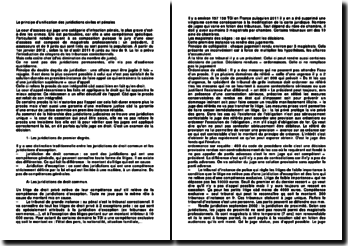 Le principe d'unification des juridictions civiles et pénales