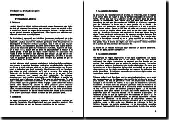 Introduction au droit judiciaire privé : le droit objectif