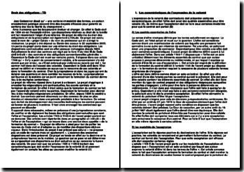 Commentaire des articles 1105 à 1105-6 du projet Catala