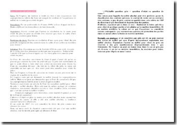 Cour de cassation, 3ème Chambre civile, 18 juillet 2001: l'action en rescision pour lésion