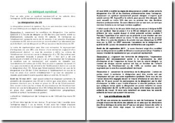 Les attributions et missions du délégué syndical