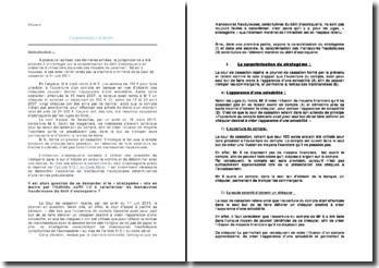 Cour de cassation le 1er juin 2011: délit d'escroquerie en présence d'utilisations abusives des moyens de paiement