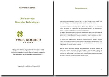 Yves Rocher: En quoi la mise à disposition de nouveaux outils technologiques permet-elle à un réseau de magasins d'accroître ses performances commerciales ?