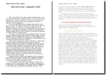 Commentaire d'arrêt, Cour de cassation, 23 janvier 2002 : droit civil des biens
