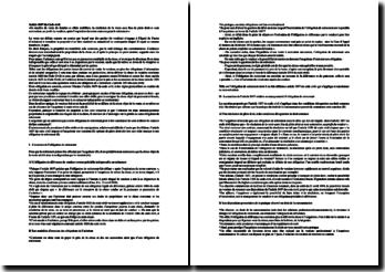 Article 1657 du Code civil: la portée de l'obligation de retirement