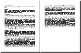 Cour de cassation, 1ère chambre civile, 6 février 2008: l'établissement d'un acte d'enfant sans vie