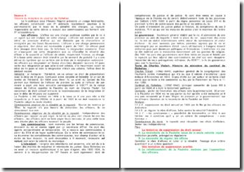 Analyse de texte: Histoire du ministère du cardinal de Richelieu - Charles Vialart