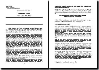 Civ 1. 8 juillet 1969, DIAC: droit international privé