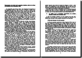Cour de cassation, première chambre civile, 12 novembre 1998: l'incapacité d'exercice