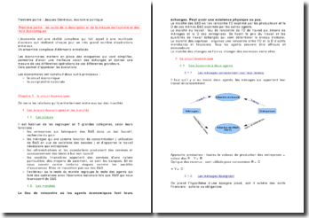 Les outils de la description et de la mesure de l'activité et des faits économiques