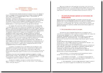 Cour de Cassation, Chambre mixte, 2 Décembre 2005: cautionnement et sûreté réelle