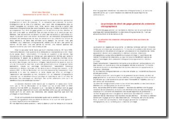 Commentaire arrêt Civ 2e, 13 mars 1996: droit des sûretés