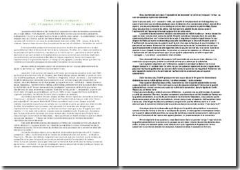 Commentaire comparé, CC, 13 janvier 1998 et CC, 24 mars 1987 : liberté et intégrité du consentement dans la formation contractuelle
