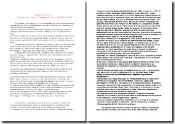 Analyse d'arrêt, Cour de cassation, Chambre Sociale, 10 Mars 2004: fin de la période d'essai pour faute