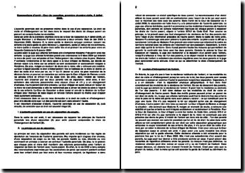 Commentaire d'arrêt : Cour de cassation, première chambre civile, 4 Juillet 2006: l'autorité parentale