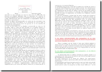 26 novembre 2003, Chambre commerciale: arrêt Alain Manoukian