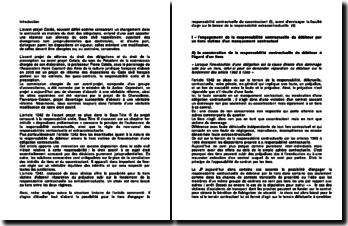 Article 1382 du code civil: L'avant-projet Catala