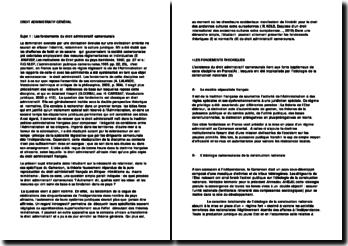 Droit administratif général: les fondements du droit administratif camerounais