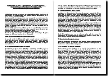 Lettres patentes de Louis XI touchant à l'inamovibilité des offices royaux (21 octobre 1467)