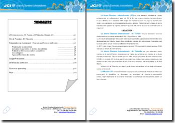 Junior Chamber International: présentation de l'événement : Championnat National de Karaté, Tunisie