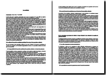 Cass. Com. 1er avril 2008: ouverture d'une procédure collective suite à l'échec d'une procédure de conciliation