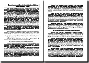 Commentaire de l'arrêt du 3 mai 2000, 1ère Chambre Civile: rapport entre le dol et la réticence