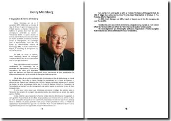 La théorie de Henry Mintzberg