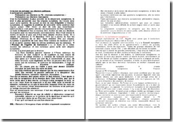 La Commission européenne: attribution, composition, désignation, responsabilité