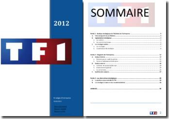 Analyse de la stratégie de TF1 et diagnostic de l'entreprise