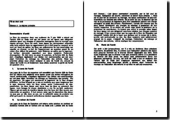 Cour de cassation, 7 juin 1989, article 220 du Code civil: le régime primaire