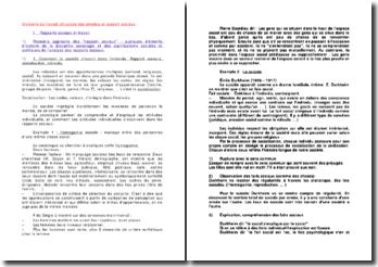 Divisions du travail, structure des emplois et rapport sociaux