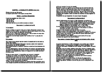 L'histoire constitutionnelle française de 1799 à 1814