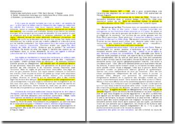 Le droit ou l'ensemble des règles qui ordonnent les intérêts des hommes dans leurs rapports sociaux