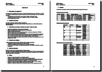 Informatique: créer des factures informatisées