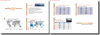 Le transport maritime dans le monde: présentation, enjeux, forces et faiblesses