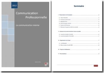 Communication professionnelle: la communication interne