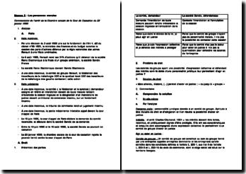 Commentaire de l'arrêt de la Chambre sociale de la Cour de Cassation du 23 janvier 1990: les personnes morales