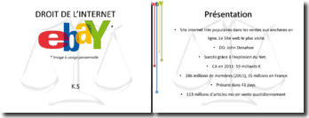 Droit de l'internet: Ebay