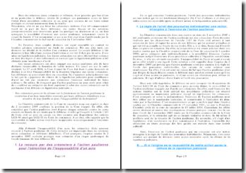 Chambre commerciale de la Cour de cassation du 2 novembre 2005: action paulienne et risque de fraude