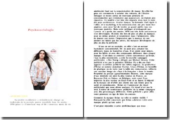 Analyse d'une publicité Evian
