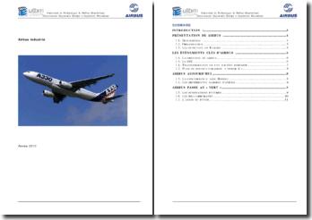 Airbus industrie: présentation et évènements clefs