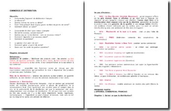 Commerce et distribution: comprendre l'appareil de distribution français