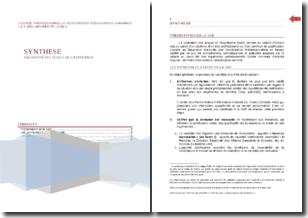 Validation des acquis de l'expérience (VAE): synthèse