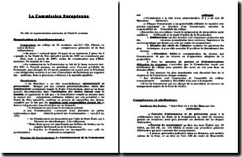 La Commission Européenne: un rôle de représentation autonome de l'intérêt commun