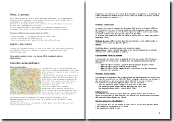 Analyse du groupe Darty: le magasin Darty Chatillon