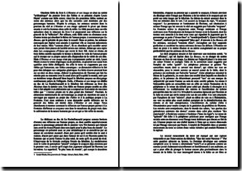Fables - La Fontaine - onzième fable du livre I: l'Homme et son image