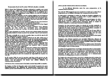 Commentaire d'arrêt du 25 octobre 1962 de la chambre criminelle: fondement de la complicité
