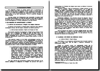 Le consentement à l'impôt - origine et traduction du principe