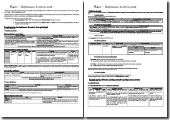 Les fondamentaux du droit des contrats